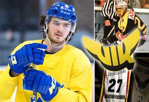 Dennis Everberg (vänster) ser tillbaka på tiden i Västerås med glädje. Foto: Simon Hastegård / Bildbyrån/Sporten.