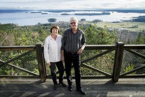 Marie och Ove Östberg har efter 23 år gjort sin sista sommar med restaurangen på Avholmsberget.