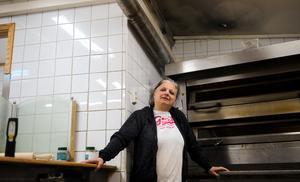 Branden var som värst i hörnet där pizzaugnen står. Under händelseförloppet var Amale Yandem var rädd för att branden skulle sprida sig, dels för restaurangens skull – men framför allt med tanke på de som bor i lägenheterna ovanför pizzerian.