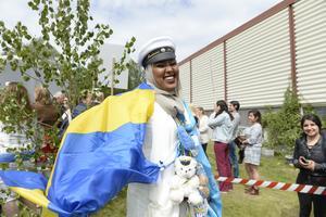 Glädjen var stor när Fardowsa Hassan Ahmed tog studenten på Praktiska gymnasiet.