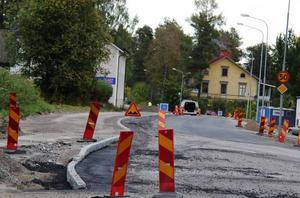 Förbättrad trafikmiljö.