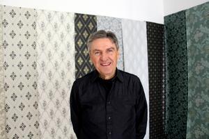 Att Björn Anderssons pappa var konstnär bidrog till att han lockades av att jobba med färg och form.
