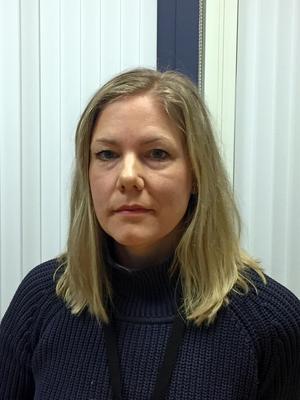 Karin Bengtsson på Transportstyrelsen menar att det lägre dödstalet för 2017 inte kan ses som ett trendbrott.Bild: Åsa Furubom