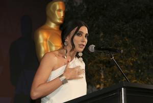 Nadine Labaki under Oscarsgalan, februari 2019 i Los Angeles. Foto: Willy Sanjuan/TT