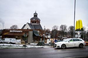 McDonald's i Bollnäs öppnade för en tid sedan och vill nu utöka sin marknadsföring.