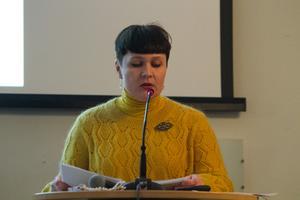 Lana Molberg (Opol) tycker inte att hon fick svar på sina frågor om kostnaderna för utrivning av kraftverksdammar.