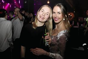 År 2017. Lina Daun och Sofia Olsson på Publik. Foto: Ida Källberg