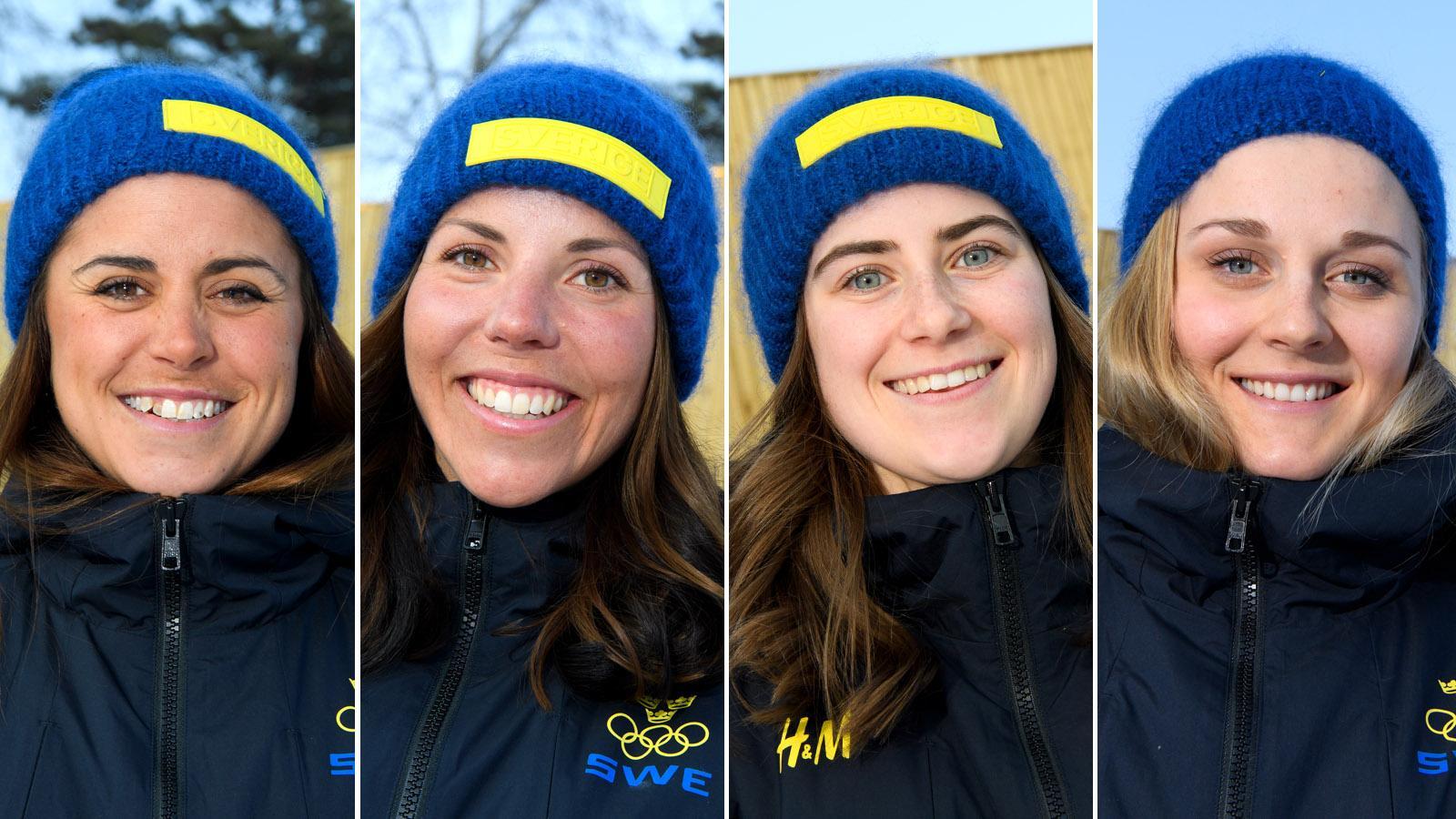Svenska herrar tvaa i sprintstafett