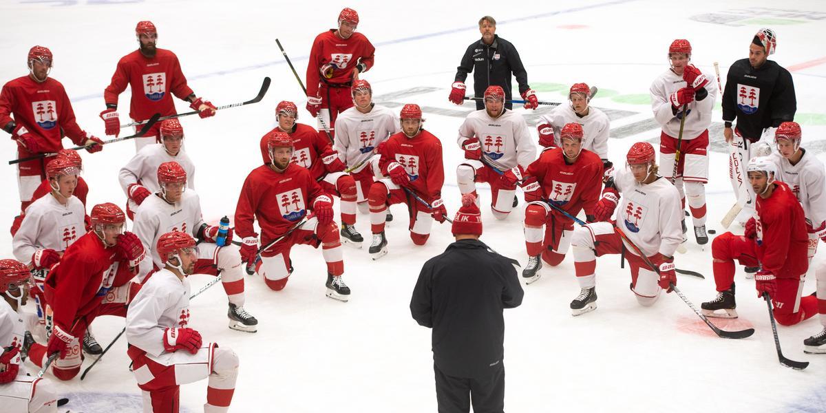 Så var Timrås måndagspass – NHL-stjärna på plats och viktig trio saknades: