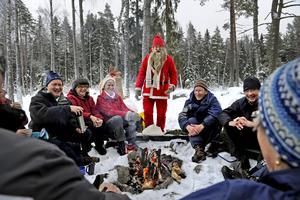 Tomte hos Naturletarna i Bettorpsskogen 2010. Fotograf: Sofie Isaksson/NA
