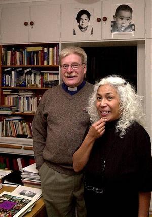 Lennart och Norma Thylander har funnit sig väl till rätta i Las Palmas och skulle inte han något emot att tjänstgöra där även nästa vinter.
