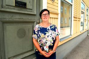 Ulrika Åsåker har en egen advokatbyrå i Säter.