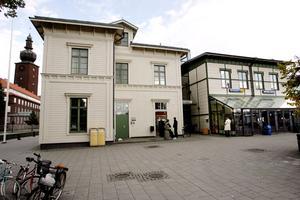 Centralstationen i Västerås.