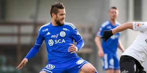 Juanjo Ciércoles var avstängd mot Örebro senast. Nu är han ett frågetecken även inför mötet med Djugården. Bild: TT.