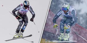 Aksel Lund Svindal och Kjetil Jansrud tog plats två och ett i Åre i herrarnas störtlopp.