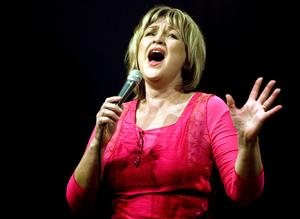 Meta Roos sjunger Ella Fitzgerald med Falu storband på söndag. Arkivbild. Foto: Lars Dafgård