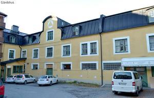 Den här gårdsbyggnaden, som byggdes före 1930, planeras att omvandlas till lägenheter. Foto: Östersunds kommun