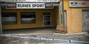 Runes sport i Skinnskatteberg har utsatts för ett inbrott.
