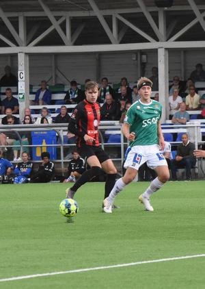 Antonsson kom till klubben inför säsongen och har sedan dess varit given i startelvan.