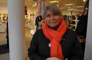 Sussi Sakofall, centrumutvecklare i Ludvika, fanns på plats i centrum under lördagen för att möta ludvikabornas åsikter kring centrum.