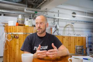 """""""Den bryggvärld vi lever i är väldigt öppen, vi delar med oss och tar del av ny kunskap hela tiden"""", säger Anders Granberg."""