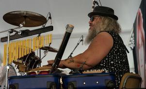 Percussionisten Gunnar.