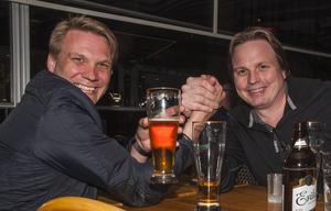 Pitchers. Thomas Brännholm och Örjan Lundberg. Foto: Fabian Zeidlitz