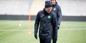 VSK:s nye högerback Jesper Florén gör under tisdagen debut i Grönvitt på Solid park arena.