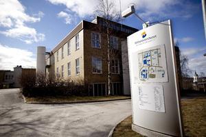 Mittuniversitetets campus i Härnösand.