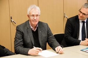Distriktsordförande för MRF Dalarna Bengt Hjalmarsson hjälpte programmet att söka bidrag via tre fonder på Motorbranschens riksförbund.