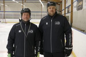 Anders Jansson är huvudtränare och Jonas Larsson är assisterande tränare.