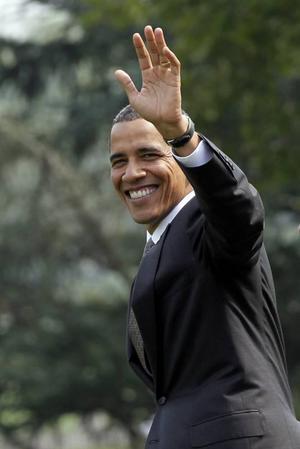 SLUTPUNKTEN? Barack Obama – sista anhalten för Sören Sommelius resa genom den amerikanska medborgarrättsrörelsens historia.Foto: Scanpix.