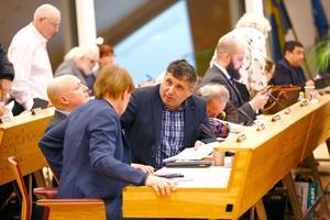 Metin Hawsho är Liberalernas toppkandidat i valet till kommunfullmäktige.