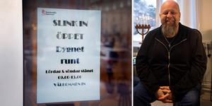 Från 14 januari till och med april har Slink in i Sundsvall dygnet runt-öppet. Foto: Mats Olsson/Linnea Hellgren