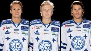 Daniel Bertov och Isac Skedung blev sjuka under matchdagen. Jon Knuts lämnade med skada. Foto: Bildbyrån