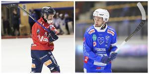 Jonas Edling och Joakim Hedqvist var båda i spel i kvällens 9–2-möte i Svenska Fönster Arena.
