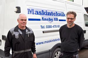 Mikael Gustafsson blir ny ägare av Maskinteknik Aneby efter Anders Torby.