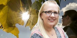 Ingrid Eronn, meteorolog på Foreca.  Fotomontage: TT/Privat