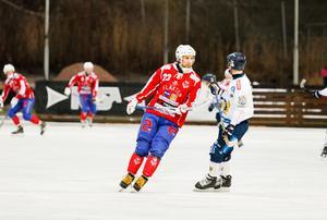 Klas Nordström gjorde 43 mål den här säsongen för Västanfors.