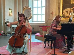Kristin Malmborg och Terés Löf. Foto: Sven Edsfors