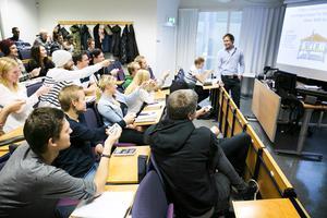 Studenter vid Högskolan Dalarna. Arkivbild.