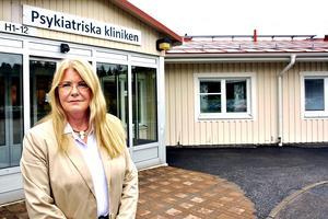 Kristina Mårtensson menar att det krävs väldigt mycket för att tvångsvårda en person mot dennes vilja.