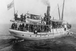 Konstnären John Bauer och hans familj omkom när ångfartyget Per Brahe förliste natten till den 20 november 1918. Arkivbild.