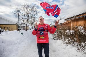 Jerker Persson, som bor i Bollnäs, var tidigare ordförande för Edsbyns IF.