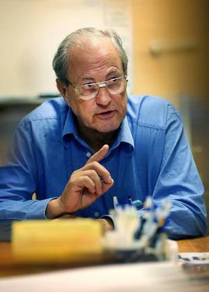 Knut Scherman (SD), ledamot i barn- och utbildningsnämnden, satte stopp för skolnedläggningarna i Svärdsjö. Foto: DT