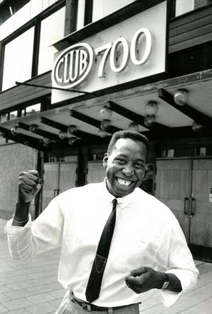 En mångsysslare. Richard var under en period flitigt anlitad discjockey. 1991 öppnade han upp dörrarna för 15–18-åringar på Club 700. Bild. Stig Nyström