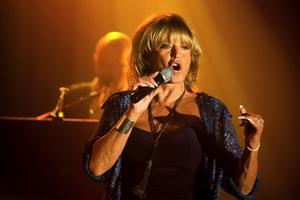 2008 turnerade Lill-Babs med en show som sammanfattade hennes då 50-åriga karriär. Den 21 oktober det året besökte hon Maximteatern i Borlänge. Foto: Karin Rickardsson
