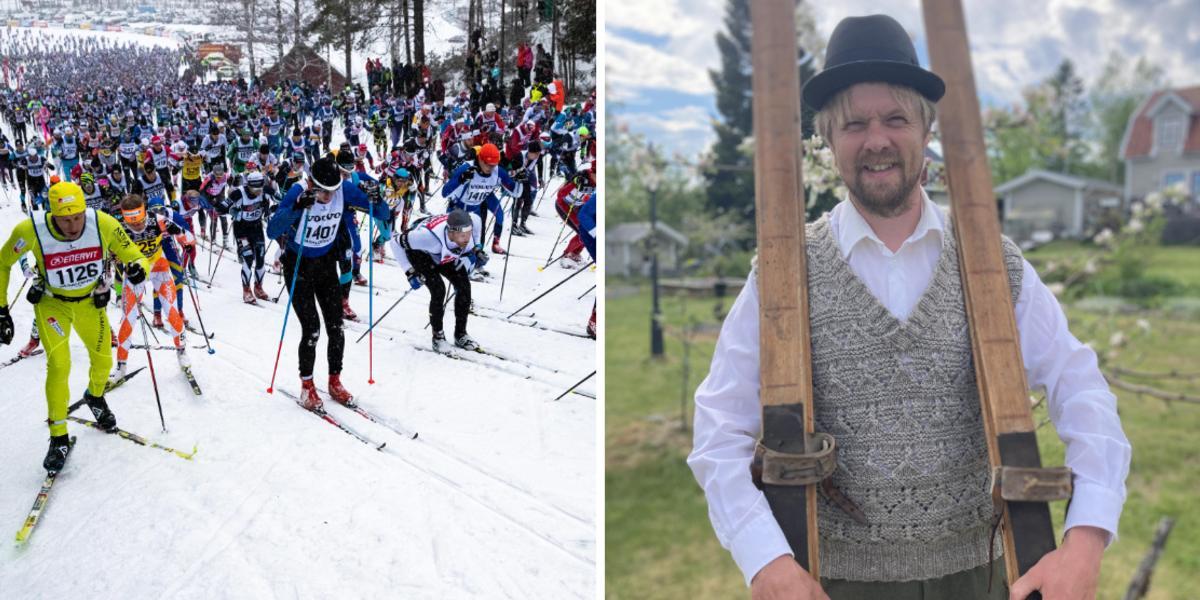 """Ö-viksbo uttagen till Jubileumsvasan – ska åka Vasaloppet i vadmalsbyxor och träskidor: """"Stolt och glad"""""""