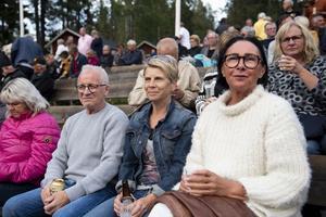 Hans Edstrand, Kristina Östman och Lena Hallin Edstrand.