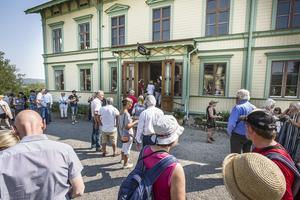 Ibland se det ju ut så här också, i Sverige. Stenegård, Järvsö.  Arkivbild.